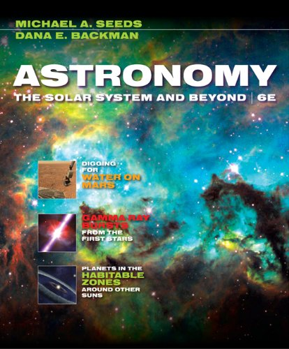 Astronomy The Solar System and Beyond 6th 2010 edition cover