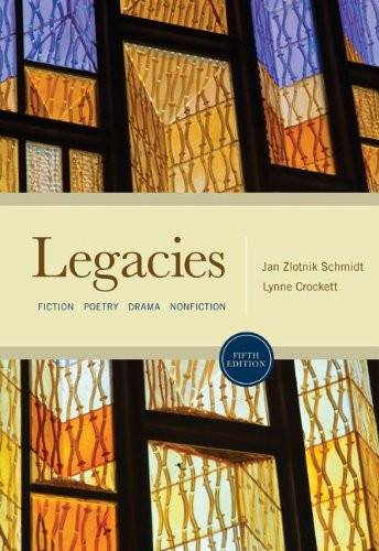 Legacies Fiction, Poetry, Drama, Nonfiction 5th 2013 edition cover