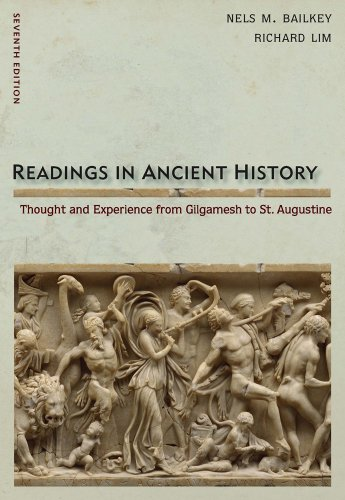 Readings in Ancient History  7th 2012 9780495913030 Front Cover