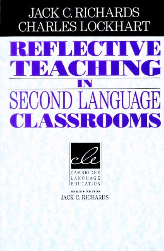 Reflective Teaching in Second Language Classrooms   1994 edition cover