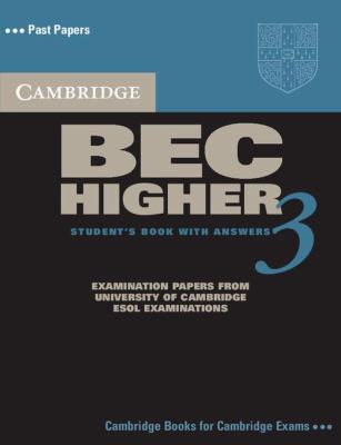 Cambridge English Business Certificate. Higher 3 Student's Book with Answers   2006 9780521672030 Front Cover