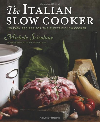 Italian Slow Cooker   2009 9780547003030 Front Cover
