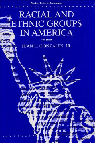 Racial and Ethnic Groups in America  5th 2004 (Revised) 9780757503030 Front Cover