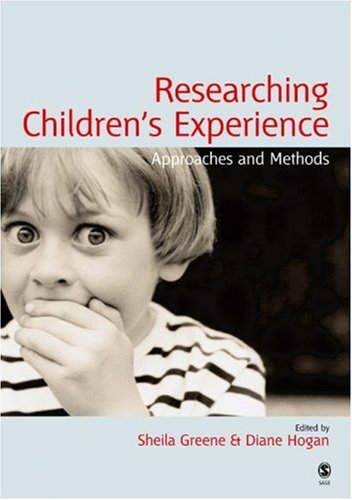 Researching Children's Experience Approaches and Methods  2005 edition cover