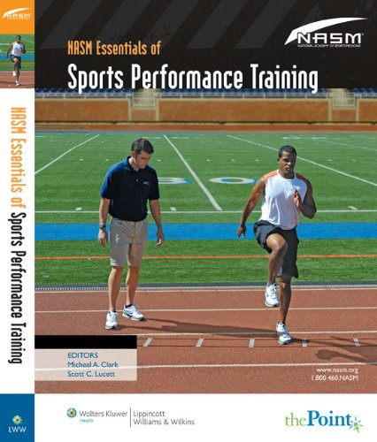 NASM Essentials of Sports Performance Training   2010 edition cover