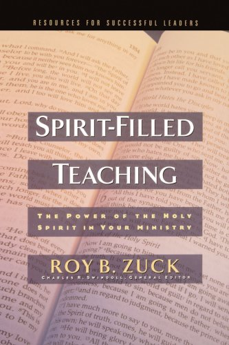 Spirit-Filled Teaching   2003 edition cover