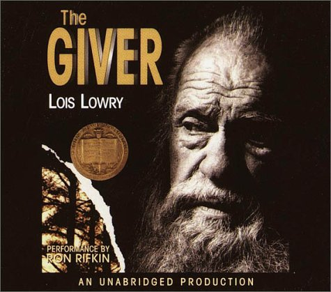 Giver Unabridged edition cover