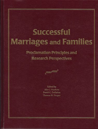 Successful Marriages and Families   2011 edition cover