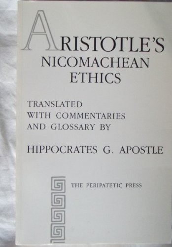 Nicomachean Ethics  2nd (Reprint) edition cover