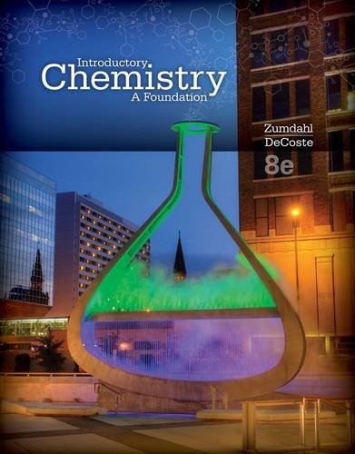Introductory Chemistry: A Foundation  2014 edition cover