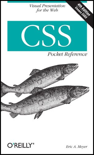 CSS Pocket Reference  4th 2011 edition cover