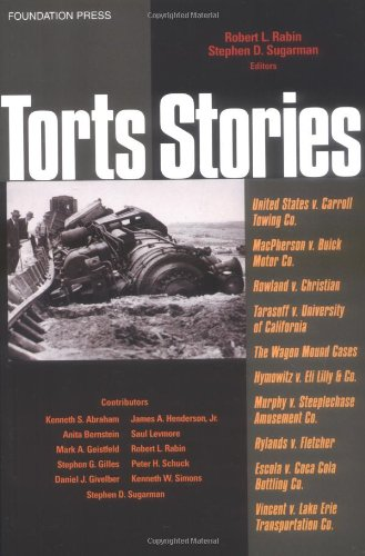 Torts Stories   2003 edition cover