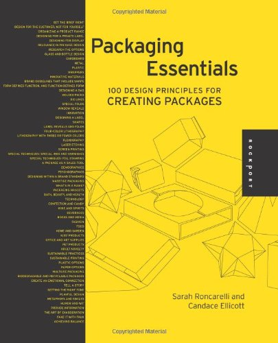 Packaging Essentials 100 Design Principles for Creating Packages  2010 edition cover