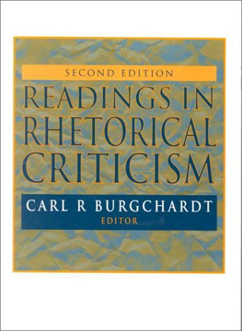 Readings in Rhetorical Criticism 2nd 2000 (Revised) edition cover