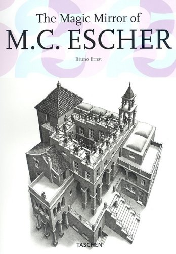 Magic Mirror of M. C. Escher   2007 9783822837030 Front Cover