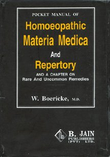 Pocket Manual of Materia Medica with Repertory and Indian Drugs N/A edition cover