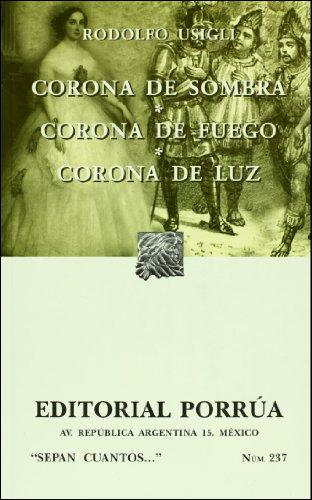 CORONA DE SOMBRA,CORONA DE FUE N/A edition cover