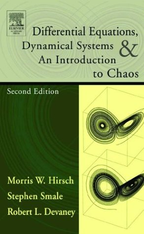 Differential Equations, Dynamical Systems, and an Introduction to Chaos  2nd 2003 (Revised) edition cover