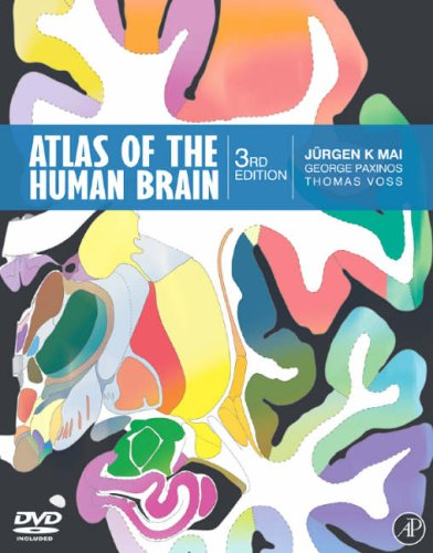 Atlas of the Human Brain  3rd 2007 edition cover