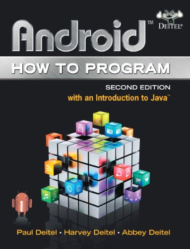 Android How to Program 2nd 2015 edition cover
