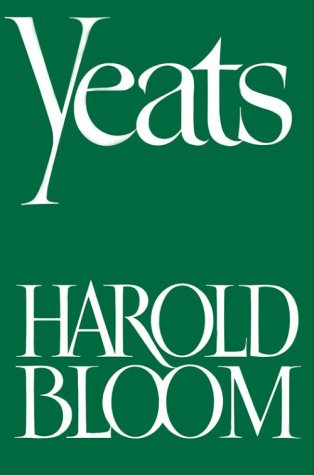 Yeats   1972 (Reprint) edition cover