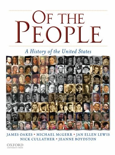 Of the People A History of the United States  2009 edition cover