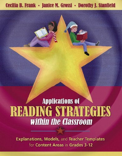 Applications of Reading Strategies Within the Classroom   2006 edition cover