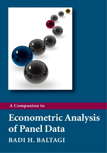 Companion to Econometric Analysis of Panel Data   2009 edition cover