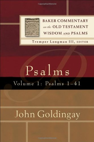 Pslams Psalms 1-41  2006 edition cover