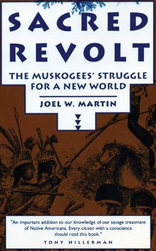 Sacred Revolt : The Muskogees' Struggle for a New World  1993 edition cover