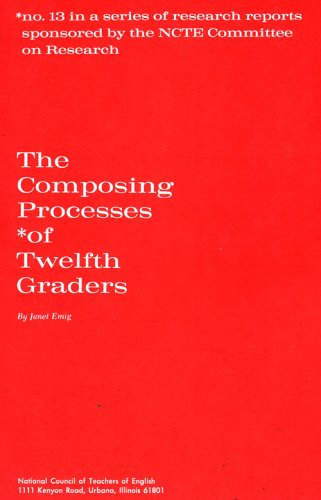 Composing Processes of Twelfth Graders 1st 1971 edition cover