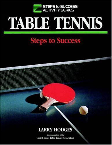 Table Tennis   1993 9780873224031 Front Cover