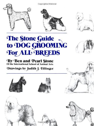 Stone Guide to Dog Grooming for All Breeds   1981 9780876054031 Front Cover