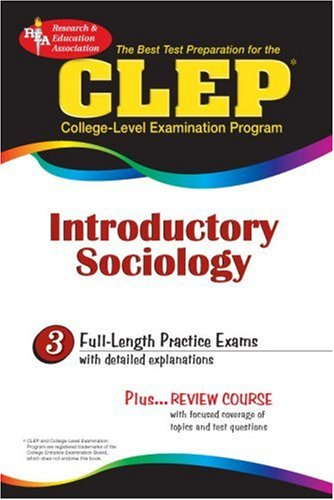 CLEP Introductory Sociology   2002 edition cover