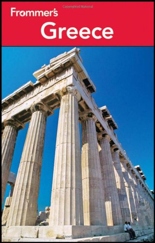 Frommer's Greece  8th 2012 edition cover