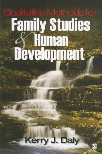 Qualitative Methods for Family Studies and Human Development   2007 edition cover