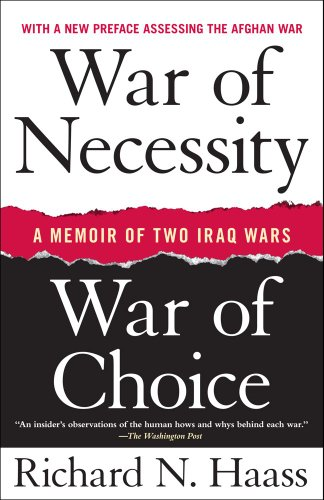 War of Necessity, War of Choice A Memoir of Two Iraq Wars N/A edition cover