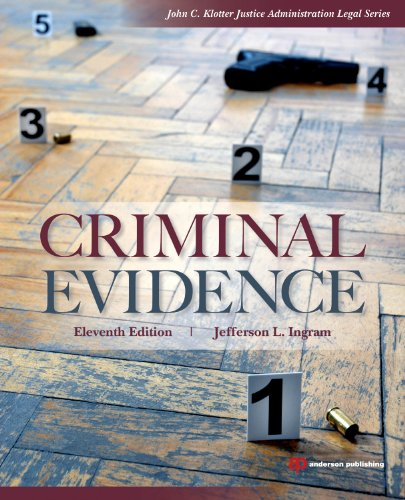 Criminal Evidence  11th 2011 (Revised) edition cover
