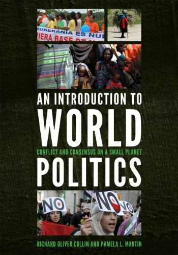 Introduction to World Politics Conflict and Consensus on a Small Planet  2012 edition cover