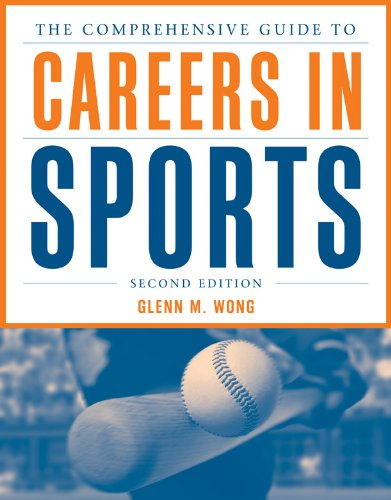 Comprehensive Guide to Careers in Sports  2nd 2013 edition cover