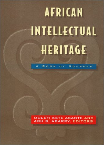 African Intellectual Heritage A Book of Sources N/A edition cover