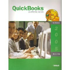 QuickBooks Learning Guide 2005 1st 2005 9781573381031 Front Cover