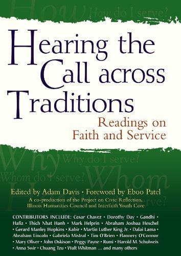 Hearing the Call Across Traditions Readings on Faith and Service  2011 edition cover