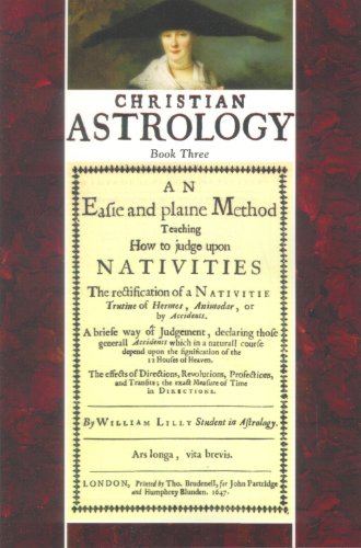 Christian Astrology, Book 3 An Easie an N/A 9781933303031 Front Cover