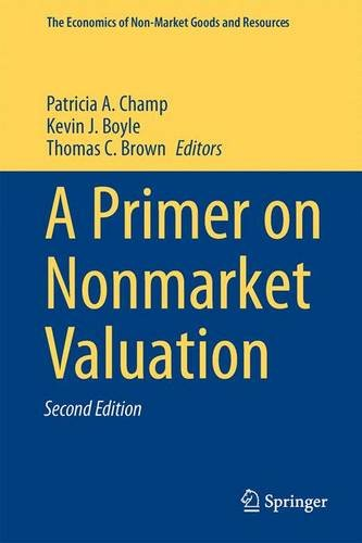 Primer on Nonmarket Valuation  2nd 2014 edition cover