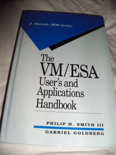 VM ESA User's and Applications Handbook  1994 9780070237032 Front Cover