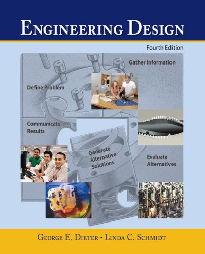 Engineering Design  4th 2009 edition cover