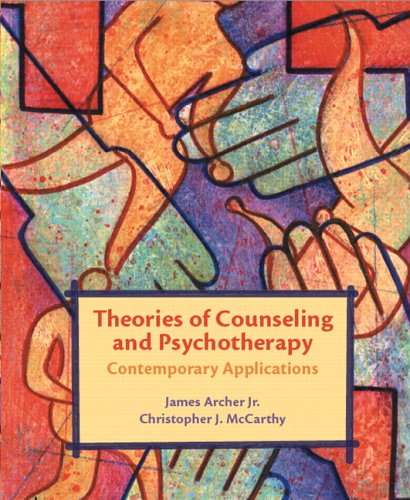 Theories of Counseling and Psychotherapy Contemporary Applications  2007 edition cover