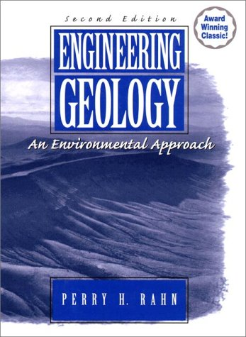 Engineering Geology An Environmental Approach 2nd 1997 (Revised) edition cover
