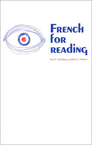 French for Reading A Programmed Approach for Graduate Degree Requirements  1997 edition cover